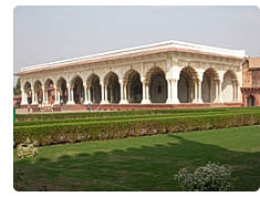 Agra fort agra red fort agra city guide agra tours agra for Diwan e khas agra fort