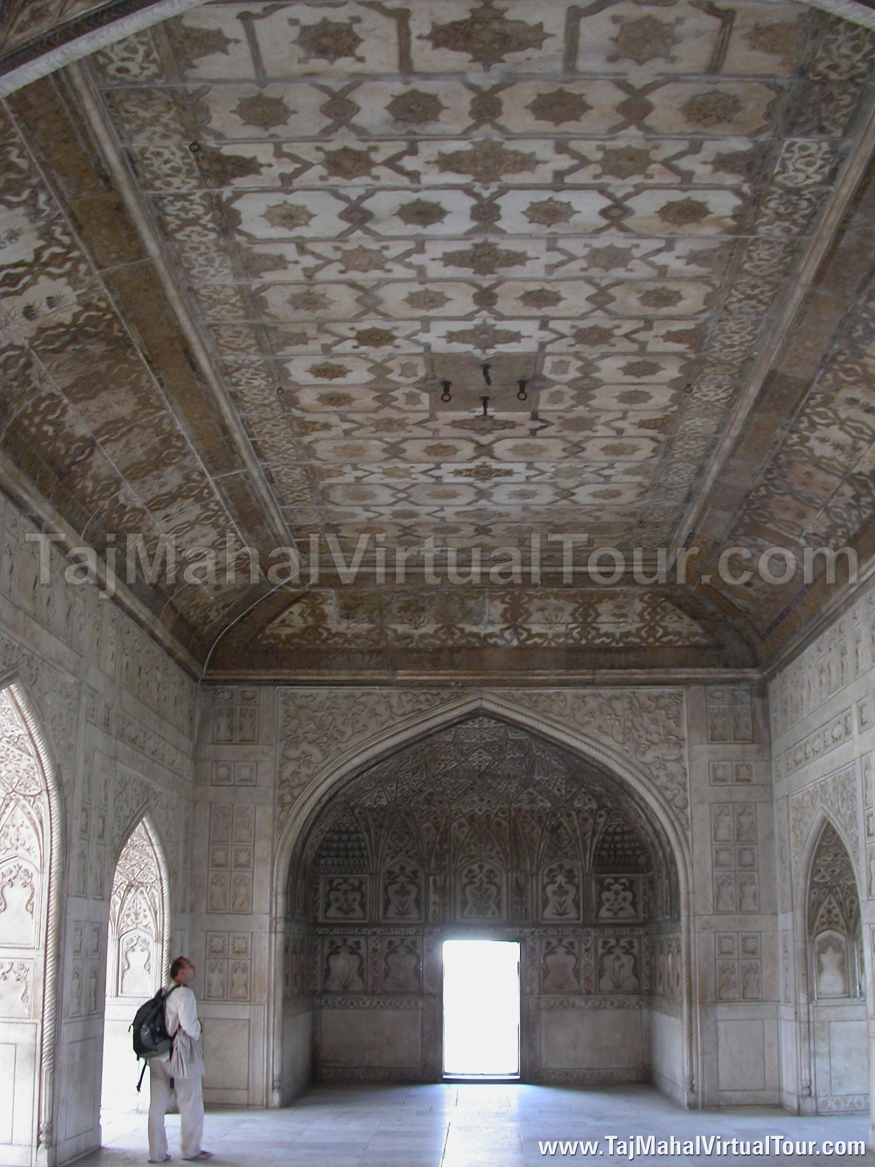 Taj mahal inside view the image kid has it for Inside interieur