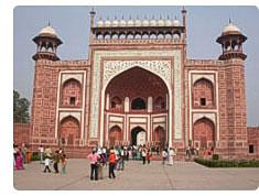 The Taj Mahal Gateway